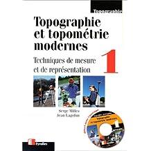 TOPOGRAPHIE TOPOMÉTRIE T01 : TECH. MEASURE +CD-ROM