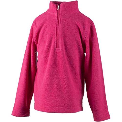 Turtleneck Fleece Micro (Obermeyer Kids Unisex Ultragear 100 Micro Zip-T (Toddler/Little Kids/Big Kids) Glamour Pink Large)