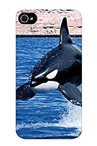 Awesome Case Cover/iphone 4/4s Defender Case Cover(wonderous Immersion ) Gift For Christmas