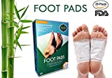 Foot Pads to Remove Impurities- Relieves Stress & Improves Sleep -100% Organic Ingredients, (20 pcs) - New 2018 by Trubu