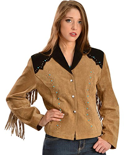 Studded Fringe Jacket - 7
