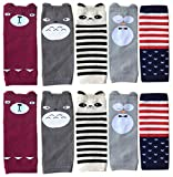Best QandSweet Clothing For Boys - Qandsweet Unisex Baby Toddler Leg Warmers Cute Cartoon Review
