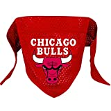 Hunter MFG Chicago Bulls Mesh Dog Bandana, Small