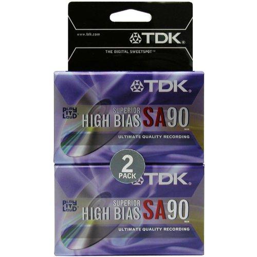 Imation SA-90L2 High Bias Audio Cassette - Pk/2 020356125417