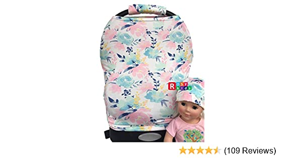 Amazon Com Rosy Kids Stretchy Infant Car Seat Canopy Cover