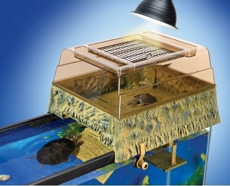 Above Tank - Reptile Products - Turtle Topper Above Tank Basking Platform