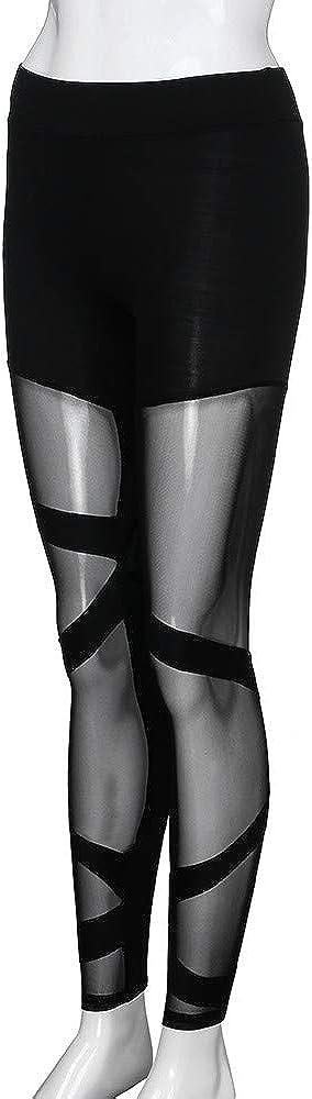 FRAUIT Donna Leggings Allenamento Yoga Fitness Push Up Spandex Palestra Pantaloni Leggins da Ragazza a Vita Alta Tights con Asciugatura Rapida e Traspirante Pantalone