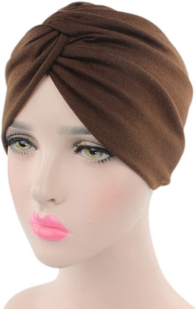 3 Pieces Cotton Beanie Hat Sleep Turban Caps Head Wrap Cap Hair Loss Cap Cancer Chemo Hat for Women Headwear
