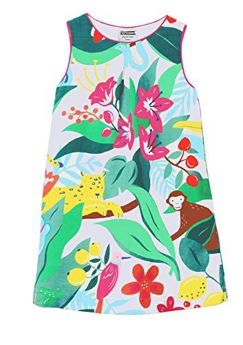 Casual Clothes For Girls (Fiream Girls Cotton Casual Longsleeve Cartoon Stripe)