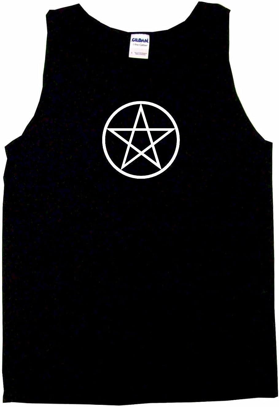 99 Volts Wicca Pentagram Circle Logo Men's Tee Shirt