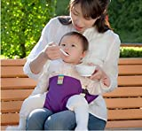 Baby/Infant Deluxe Security Chair Harness: Original Washable Squashable Portable Travel Seat Belt(Random Color)
