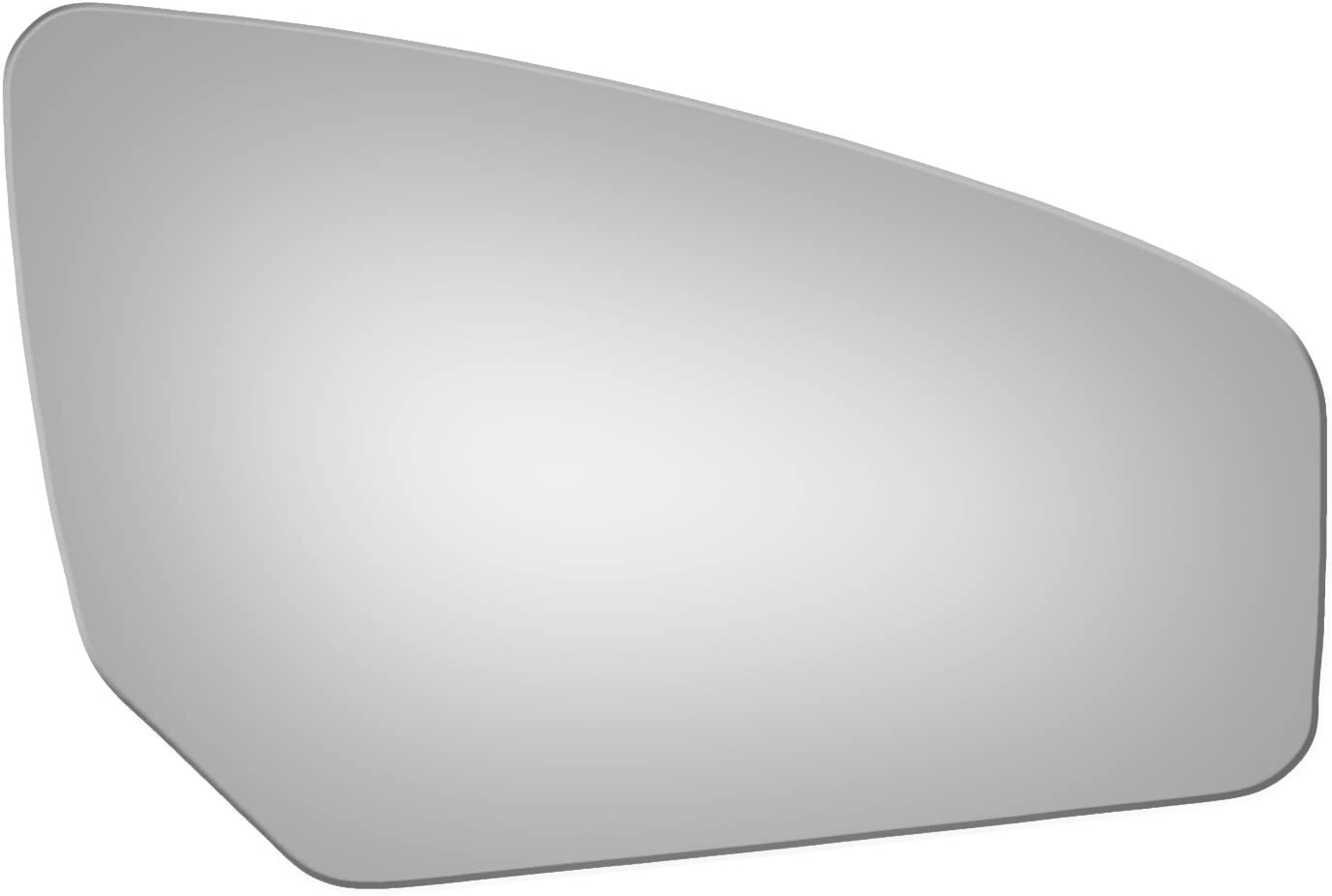 Passenger Right Side Replacement Convex Mirror Glass For Nissan Sentra 2007-2012