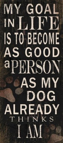 to become a good person