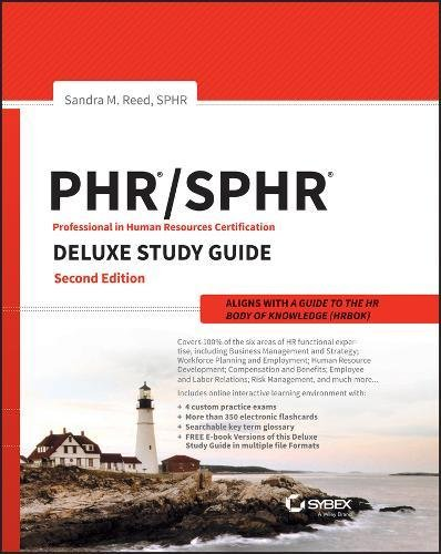 Phr sphr deluxe study guide
