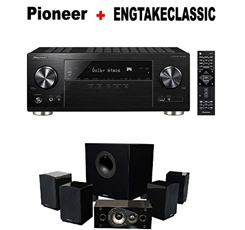 Pioneer-Audio-Video-Component-Receiver-black-VSX-932-Energy-51-Take-Classic-Home-Entertainment-System-Set-of-Six-Black-Bundle