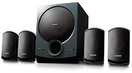 Sony SA-D10 4 1 Channel Multimedia Speaker System (Black)