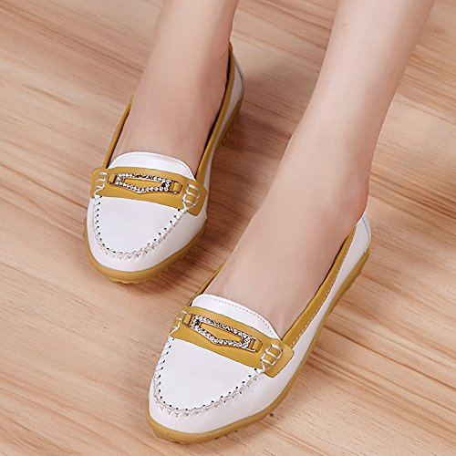 Ladies Yangjiaxuan Studio Outdoor White Indoor Comfortable Face Soft Shoes Shoes Leisure Flat Summer 6x5fq1wxO