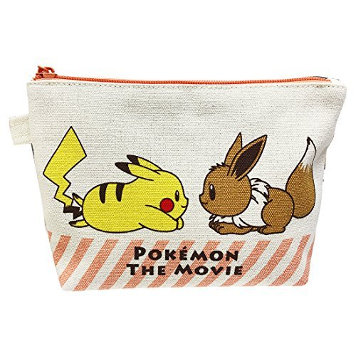 SMALL PLANET (SMALL PLANET) Pocket Monster POKEMON THE MOVIE Goody Pouch Pikachu and Eevee PMAP984