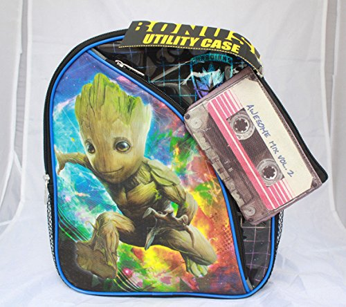 Marvel Groot Guardians Of The Galaxy 2 Toddler Boy Backpack Bookbag Kids 12