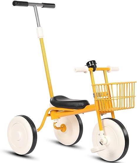Triciclo para Niños con Varilla De Empuje Desmontable Bicicletas ...