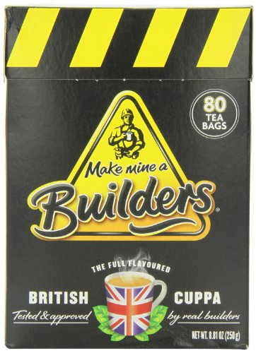 Builders Teabags, 80-Count, 8.81 oz