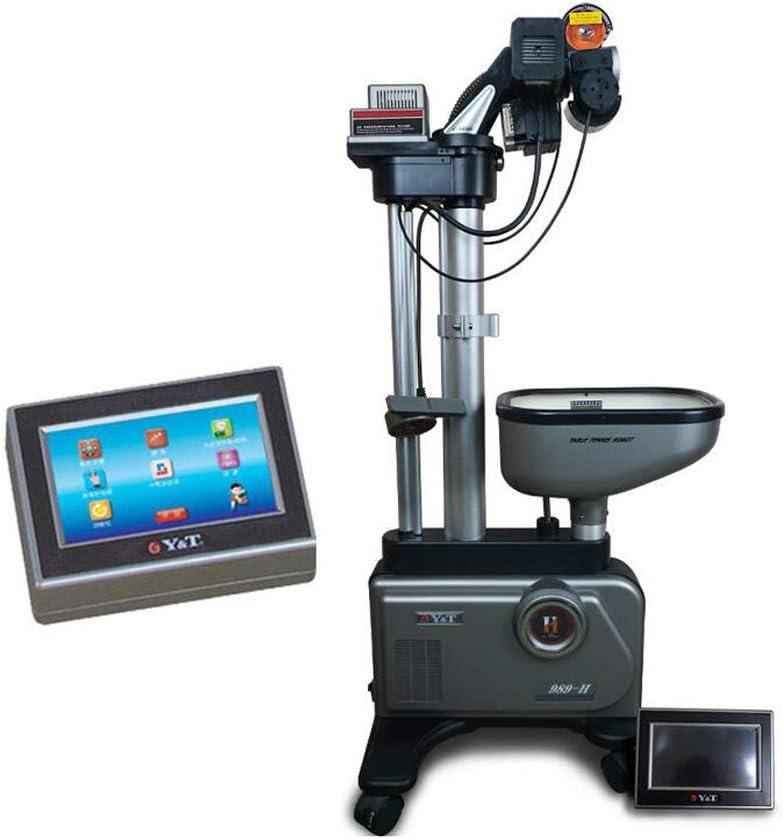 PONED Ping Pong Tenis de Mesa Robot,Servicio programable de 11, Puntos Pantalla Digital,8 Tipos de Bolas giratorias para Entrenamiento Profesional, Ejercicio, Principiantes