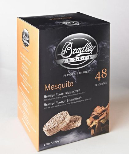 Bradley Smoker Flavor Bisquettes - Box 120 - Mesquite by Bradley