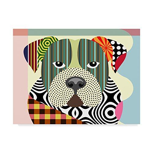 Trademark Fine Art American Bulldog by Lanre Adefioye