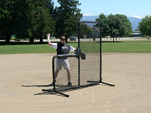 The Armadillo Baseball L-Screen by Batting Cages Inc.