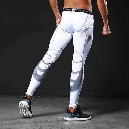pantalon compression homme blanc