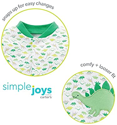 Simple Joys by Carter's Baby Girls' 2-Pack Cotton Footed Sleep and Play by Simple Joys by Carter's that we recomend individually.