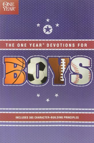 The One Year Book of Devotions for Boys (Series Year Devotional)