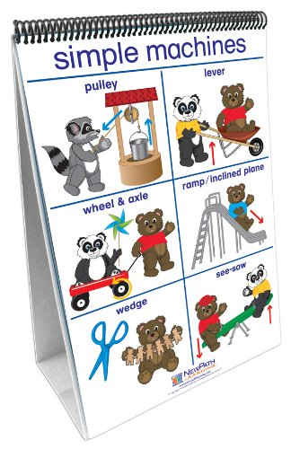 NewPath Learning Pushing Moving and Pulling Curriculum Mastery Flip Chart Set, Early Childhood