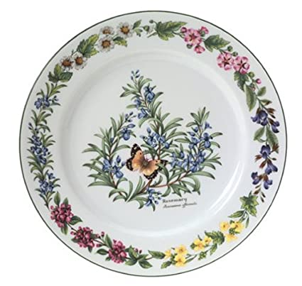 Royal Worcester Herbs Porcelain 10 Inch Dinner Plate