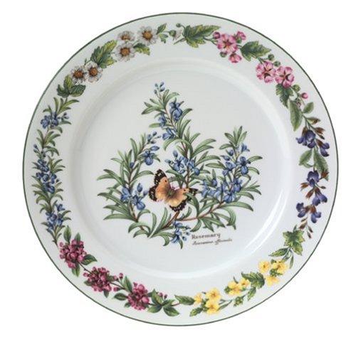 Royal Worcester Herbs Porcelain 10-Inch Dinner ()