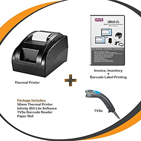 Plate Pass Receipt Word Infinity Infocom Mm Thermal Printer With Invoicing Software And  What Does Po Number Mean On An Invoice Pdf with Invoice Lay Out Infinity Infocom Mm Thermal Printer With Invoicing Software And Barcode  Reader Amazonin Amazonin Gogo Inflight Receipt Pdf