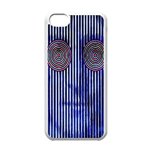 DIY iPhone 5C Case, Zyoux Custom New Design iPhone 5C Plastic Case - Trippy Moving
