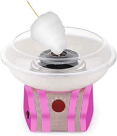 500W Cotton Candy Machine para Fiestas Cumpleaños, Máquina de Hacer algodón de azúcar, Usar Azúcar Normal o Caramelos Duros, de plástico, 31.5x21x14.5 cm: Amazon.es: Hogar