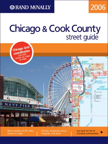 Rand Mcnally 2006 Chicago & Cook County Street Guide (Rand Mcnally Streetfinders)