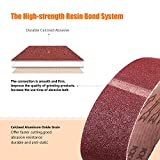 TACKLIFE 3x18-Inch Sanding Belt, 10Pack