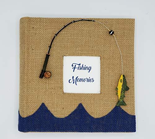 (Fishing Memories Photo Album - Holds 160 4x6