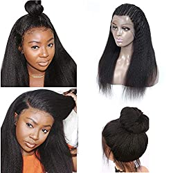Image of the product Kinky Straight Wig Human that is listed on the catalogue brand of liangbeier.