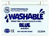Stamp Pad Washable Blue by Center Enterprises
