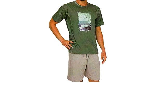 Rachas & Abreu Pijama Verano para Hombre (XXL): Amazon.es: Ropa y accesorios
