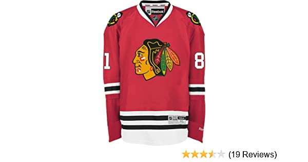 a35f56dfdb9 Amazon.com : NHL Chicago Blackhawks Marian Hossa Men's Center Ice Team  Color Premier Jersey with Name and Number, Red, Small : Sports Fan Jerseys  : Clothing