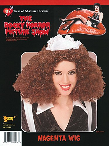 Forum The Rocky Horror Picture Show Wig, Megenta, One Size (Dress Rocky Horror)