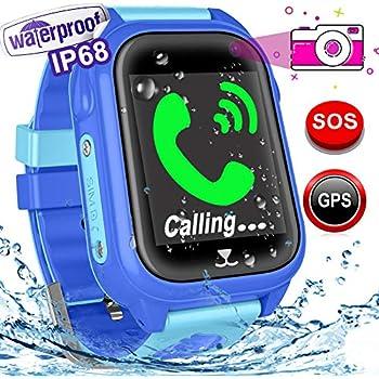 Amazon.com: Kids GPS Tracker Watch for Boys Girls - Smart ...