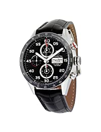 Tag Heuer Carrera Black Dial Automatic Chronograph Mens Watch CV2A1R.FC6235
