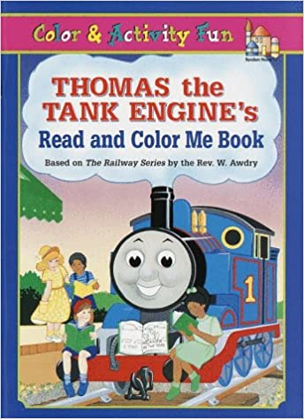 W. Awdry - Thomas The Tank Engine's Read And Color Me Book