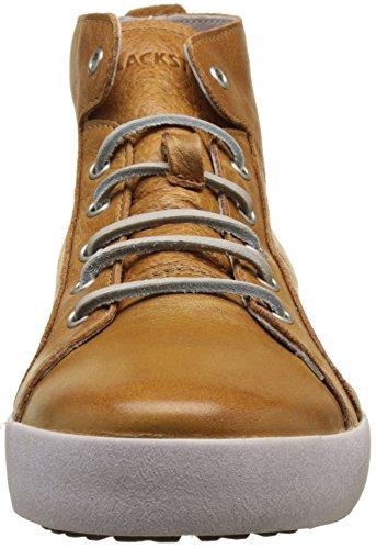 Sneaker Blackstone Mens Jm03 Mid Rise, Pelle Ruggine Pieno Fiore, Eu 44 M